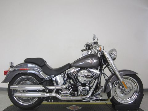Pre-Owned 2016 Harley-Davidson Softail Fat Boy FLSTF