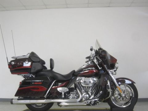 Pre-Owned 2013 Harley-Davidson Electra Glide Ultra CVO 110th Anniversary FLHTCUSE