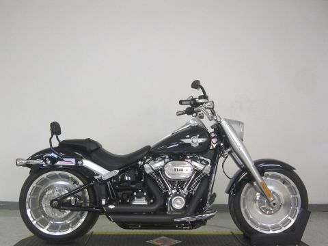 Pre-Owned 2018 Harley-Davidson Softail Fat Boy 114 FLFBS